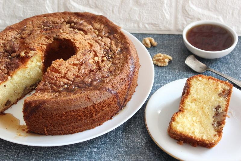 עוגת מייפל פרווה