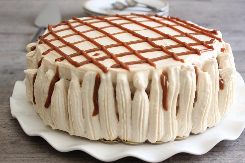 עוגת ריבת חלב וקצפת