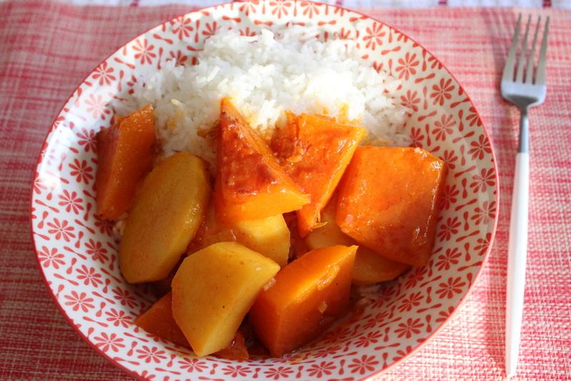 טאסקובב תבשיל פרסי עם תפוחי אדמה ודלעת