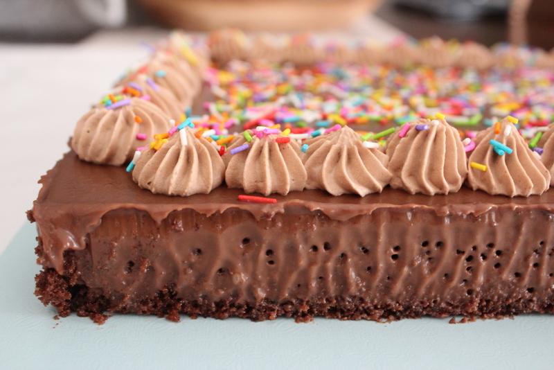 עוגת שוקולד יום הולדת לדודי