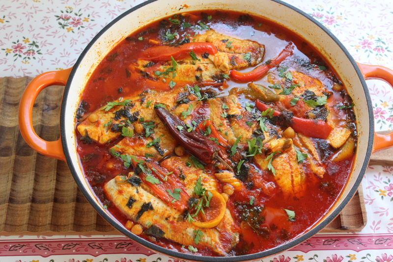 דג מרוקאי חריף וטעים