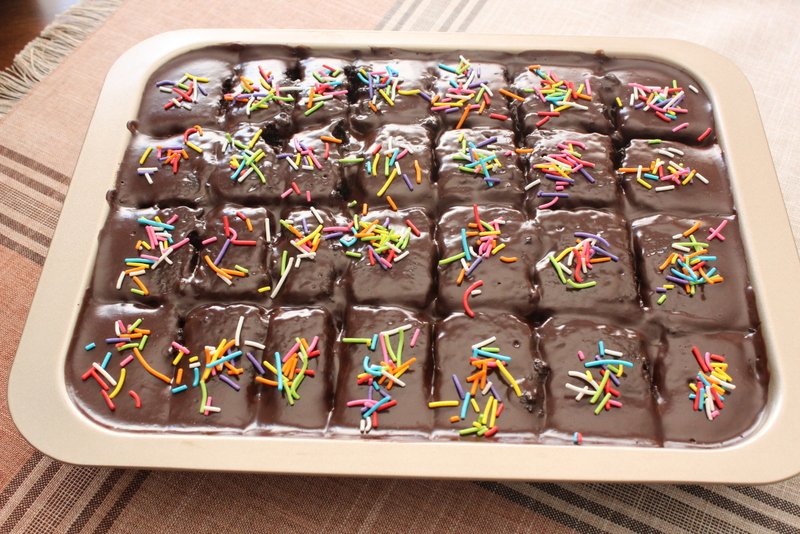 עוגת שוקולד של נועם